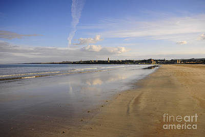 St Andrews Art Print by Nichola Denny