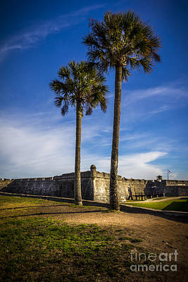 Augustine Photograph - St. Augustine Fort by Marvin Spates
