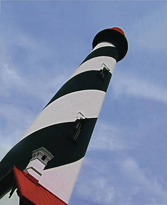 Photograph - St. Augustine Lighthouse by William Bitman