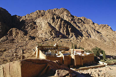 Photograph - St. Catherine's Monastery by Michele Burgess