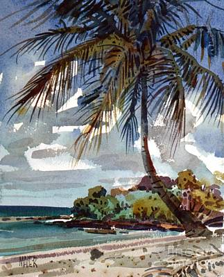 Carribean Painting - St. Croix Beach by Donald Maier