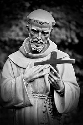 Photograph - St Francis Of Assisi by Mike Martin