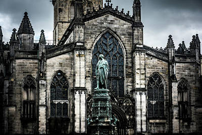 Photograph - St Giles' Cathedral by Andrew Matwijec