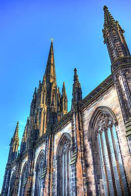 Photograph - St Giles Cathedral Edinburgh  by David Pyatt