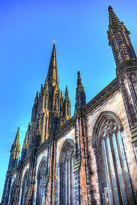 Photograph - St Giles Edinburgh Cathedral by David Pyatt