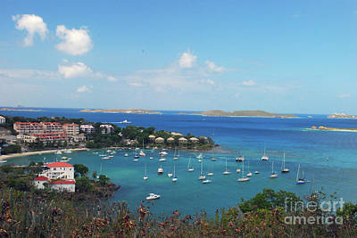 Photograph - St. John Harbor by Gary Wonning