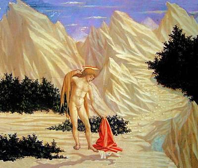 Painting - St. John In The Desert by Domenico Veneziano