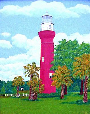 - St Johns River  Lighthouse by Frederic Kohli
