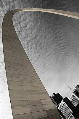 St. Louis Arch Wall Art - Photograph - St. Louis Arch by Ryan Heffron