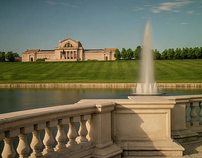 Forest Park Photograph - St Louis Art Museum In Forest Park by Garry McMichael