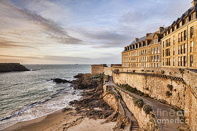 Photograph - St Malo Brittany France by Colin and Linda McKie