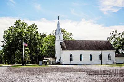 St. Margaret Catholic Church - Springfield Louisiana Art Print by Scott Pellegrin