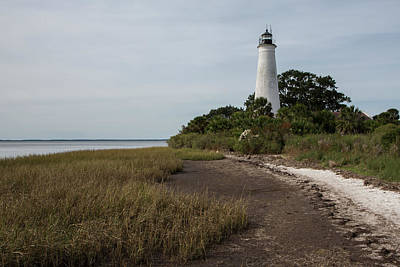 St. Marks Lighthouse Art Print by Jurgen Lorenzen