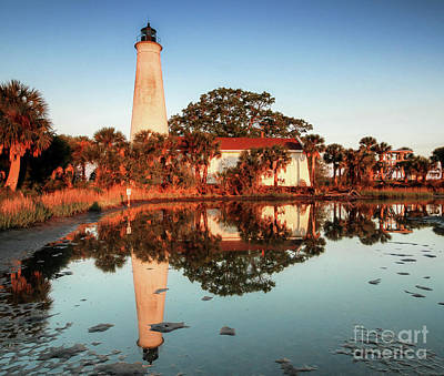 St Marks Lighthouse  Art Print by Scott Moore