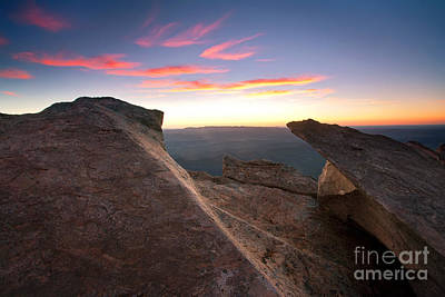 St Mary Photograph - St Mary Peak Sunrise by Bill  Robinson