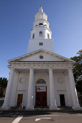 St Michaels Church Charleston Sc Art Print by Dustin K Ryan