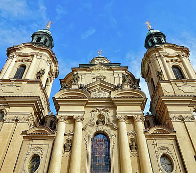 Photograph - St. Nicholas Church In Prague by Richard Rosenshein