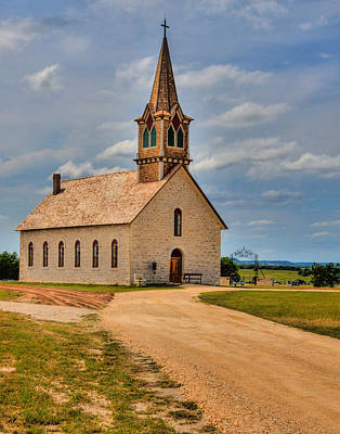 Photograph - St Olaf Lutheran Church by David and Carol Kelly