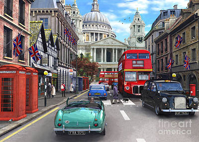St Paul's Cathedral Art Print by Dominic Davison