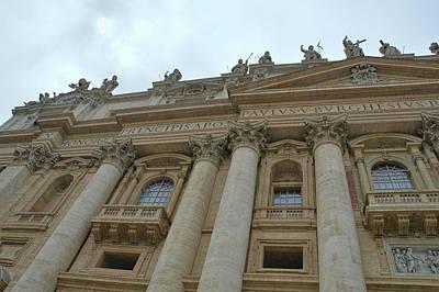 Photograph - St. Peter's Facade by JAMART Photography