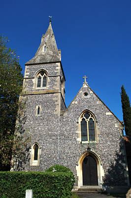 Photograph - St Peters Marlow by Chris Day