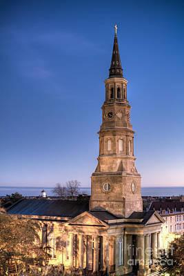 St Philips Church Charleston Sc Dusk Original by Dustin K Ryan