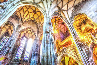 Photograph - St Stephens Cathedral Vienna Art by David Pyatt