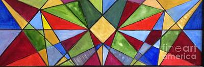 Painting - Stained Glass 1 by Tina Swindell