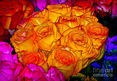 Photograph - Stained Glass Bouquet by Judi Bagwell