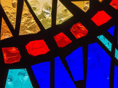 Photograph - Stained Glass by Jean Noren