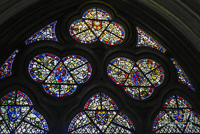 Photograph - Stained Glass Window by Patricia Hofmeester