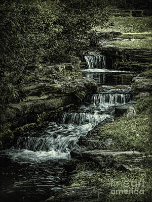 Photograph - Stair Step Falls by Ken Frischkorn