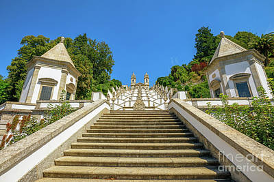 Photograph - Staircase Of Bom Jesus Do Monte by Benny Marty