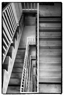 Photograph - Stairs by Hugh Smith