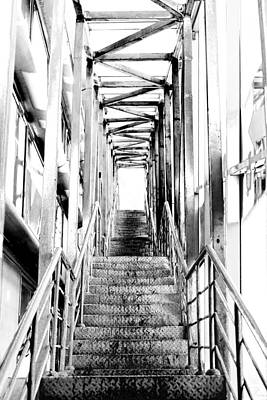 Stairway To The Light Print by Vadim Goodwill