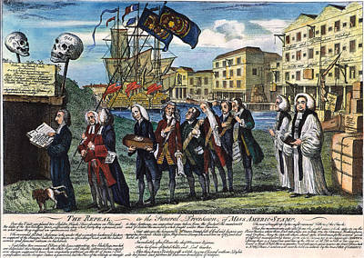 Stamp Act: Repeal, 1766 Art Print by Granger