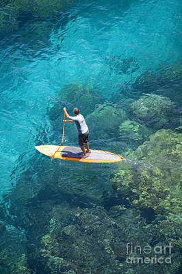 Break Fast Photograph - Stand Up Paddling by Ron Dahlquist - Printscapes