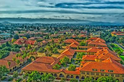 Stanford Wall Art - Photograph - Stanford University by Mountain Dreams