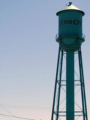 Photograph - Stanhope Water Tower by Kyle West