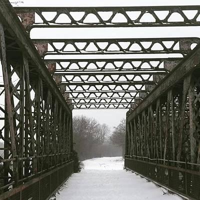 Warwickshire Photograph - Stannals Bridge | March by John S