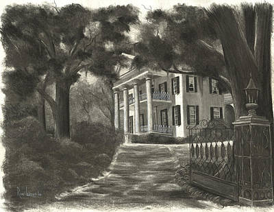 Mississippi Painting - Stanton Hall by Ron Landry