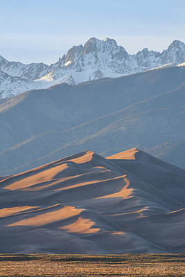 Photograph - Star Dune by Aaron Spong