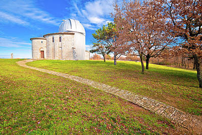 Photograph - Star Observatory Of Visnjan On Istrian Hill View by Brch Photography