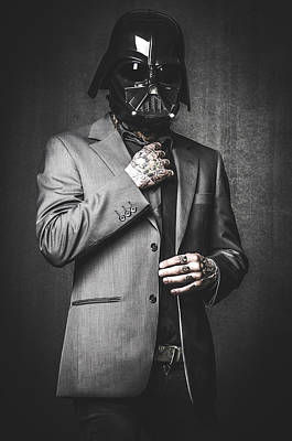 Star Wars Dressman Art Print