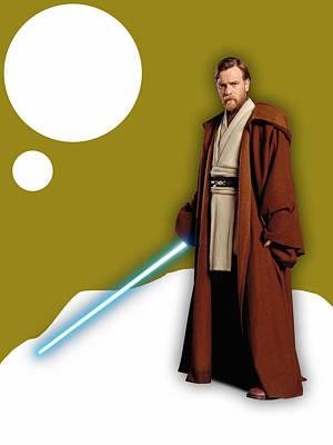 Star Wars Obi Wan Kenobi Collection Art Print by Marvin Blaine