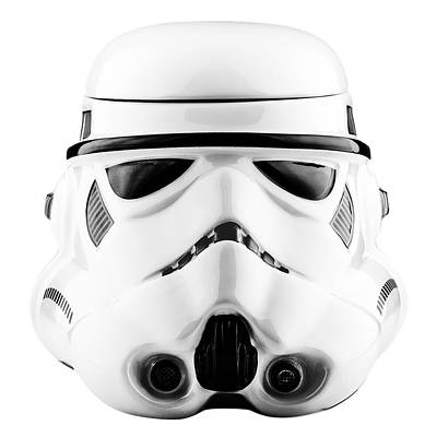 Drawing - Star Wars Stormtrooper Helmet Graphic Drawing - Doc Braham - All Rights Reserved by Doc Braham