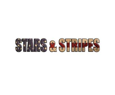 Stars And Stripes Art Print by Martin Newman