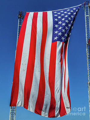 Photograph - Stars And Stripes by Tony Baca