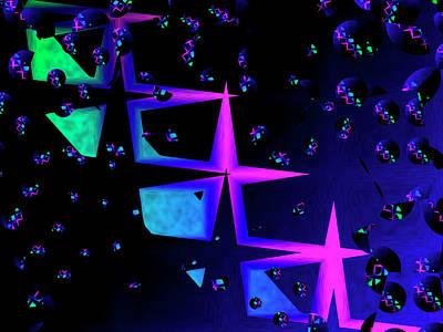 Digital Art - Stars by Contemporary Art