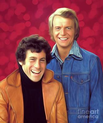 Royalty-Free and Rights-Managed Images - Starsky and Hutch by Esoterica Art Agency